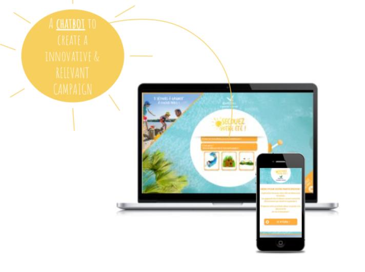 Una chatbot per creare una campagna innovativa & di rilievo Una chatbot innovativa che può essere utilizzata sia su desktop che su dispositivi mobile.
